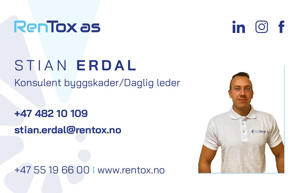 Stian Erdal - Konsulent byggskader/ Daglig leder