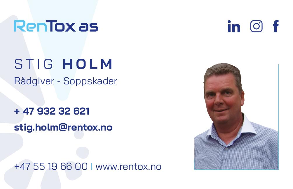 Stig Holm. Rådgiver - Soppskader.