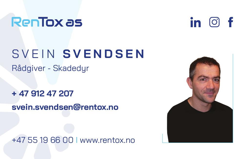 Svein Svendsen. Rådgiver - Skadedyr.